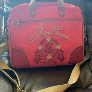 Vintage Juicy Couture Computer bag